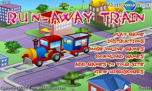 Train Run Away