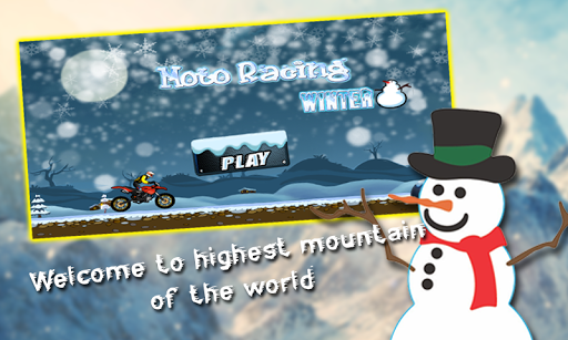 Moto Racing : Winter