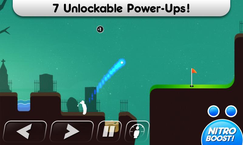 Super Stickman Golf screenshot #2
