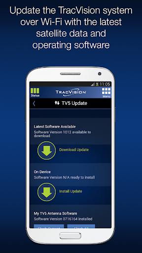 KVH TracVision TV/RV-series 1.3.6 screenshots 5