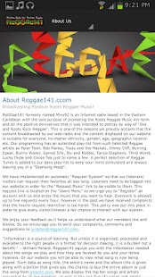 Reggae141.com - screenshot thumbnail