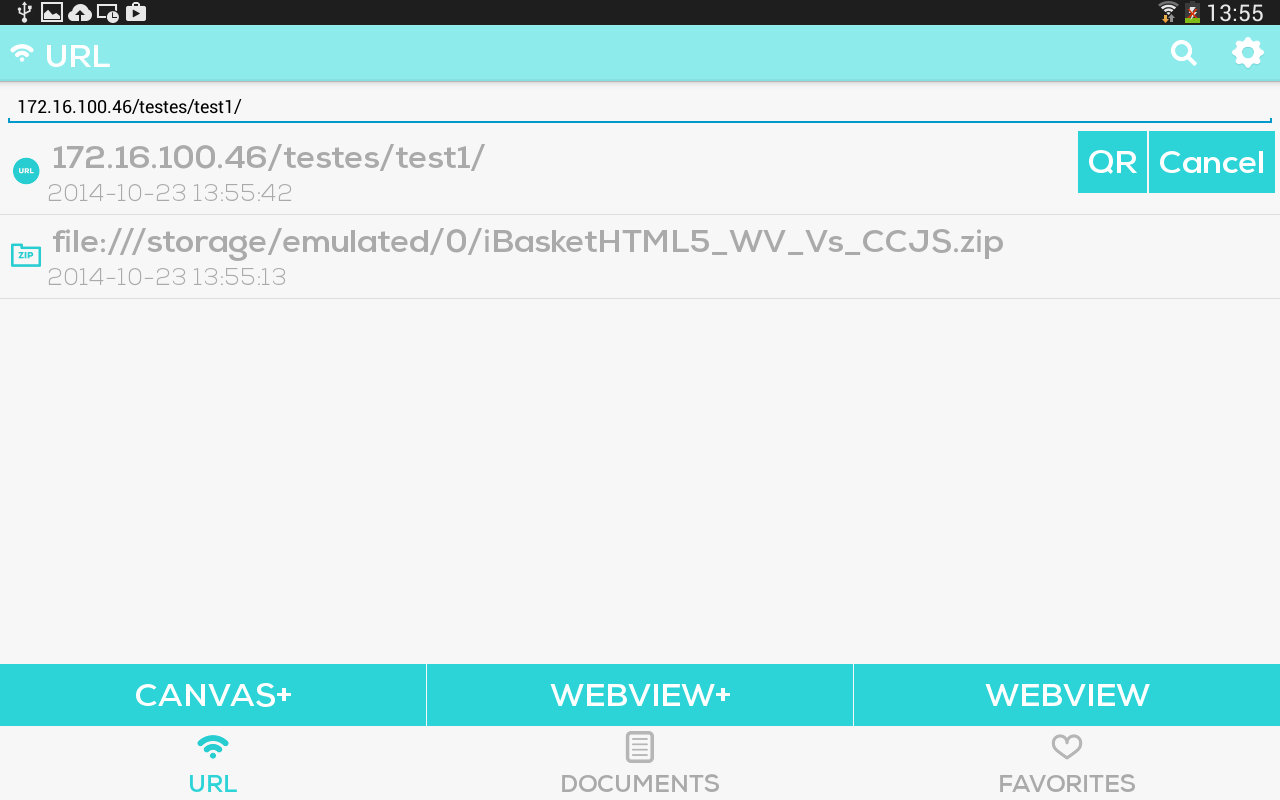 CocoonJS Launcher - screenshot