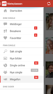 Møteplassen - date single - screenshot thumbnail
