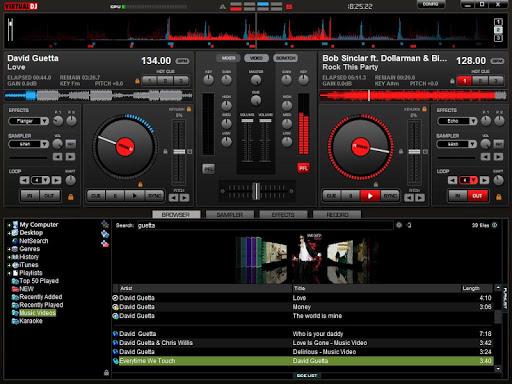 Virtual DJ Tutorial