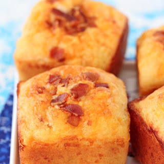 Bacon Cheddar Corn Muffins.