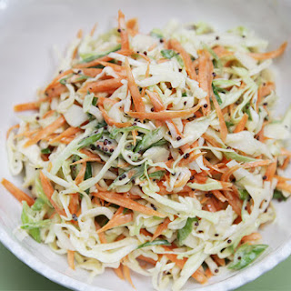 Classic Coleslaw with Black Mustard Seeds and Greek Yogurt Dressing Recipe