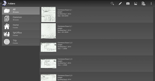Mobile Doc Scanner 3 + OCR Screenshot 1