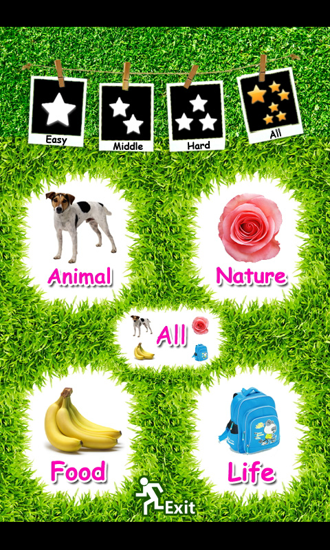 Kids English Flash Card- screenshot