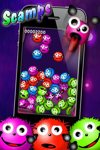 SCAMPS - addictive puzzle game - screenshot