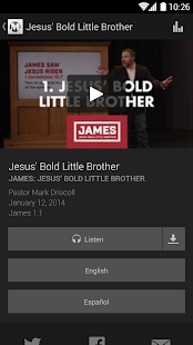 Mars Hill Church - screenshot thumbnail