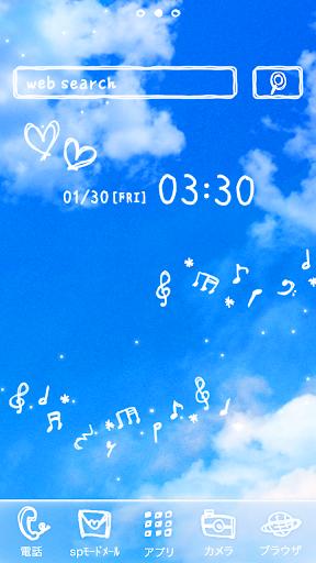 可爱的换肤壁纸★Melody sky