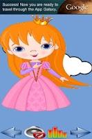 Screenshot of Connect the dots - Princess