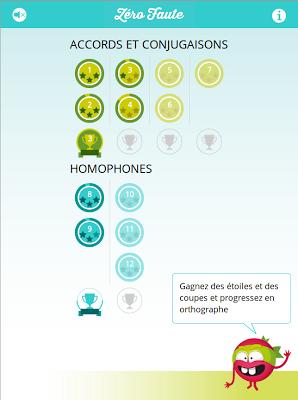 Zéro Faute en Orthographe - screenshot