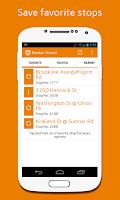 Screenshot of Boston Transit (MBTA)