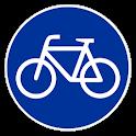 Carril bici Barcelona logo