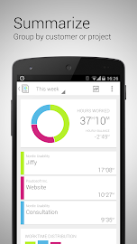 Jiffy - Time tracker Screenshot 3