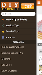 Family Handyman DIY Tip Genius - screenshot thumbnail