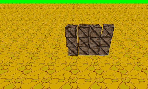 Bullet Physics 3D Sample