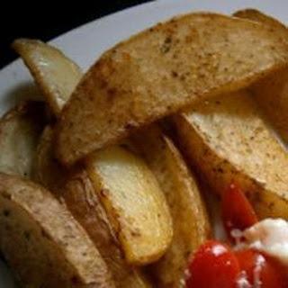 Crispy Potato Wedges.