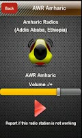 Screenshot of Amharic Radio Amharic Radios