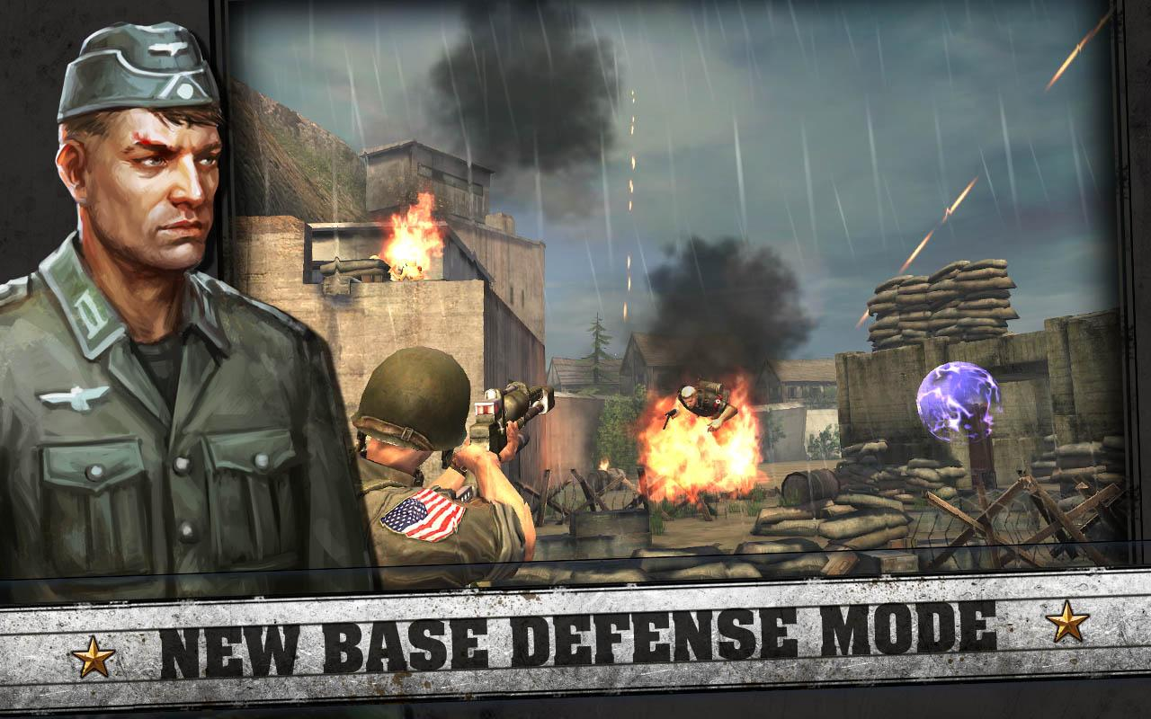 Screenshots of FRONTLINE COMMANDO: D-DAY for iPhone