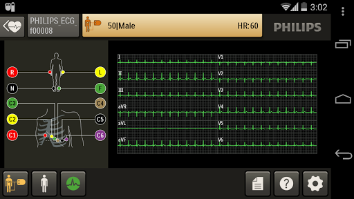 Efficia ECG100 app (apk) free download for Android/PC/Windows screenshot