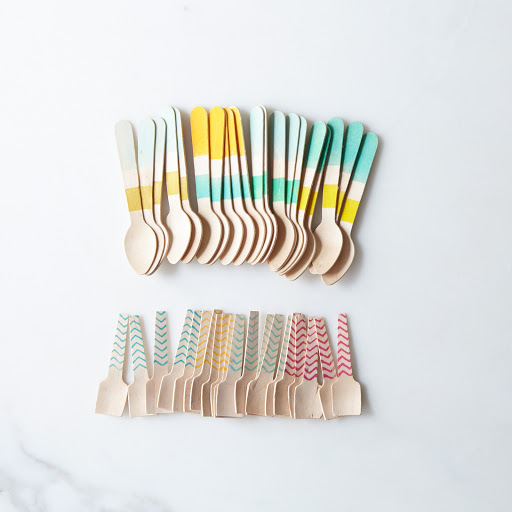 Wooden Ice Cream Spoons