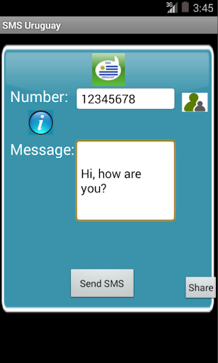 Free SMS Uruguay