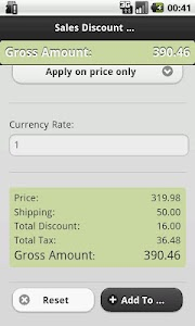 Sales Calculator For eCommerce screenshot 1