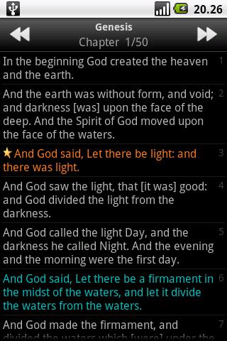 Holy Bible (KJV)  screenshots 5