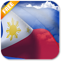 3D Philippines Flag LWP icon