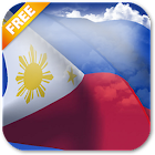 3D Philippines Flag Live Wallpaper icon