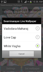 Swaminarayan Live Wallpaper screenshot 2