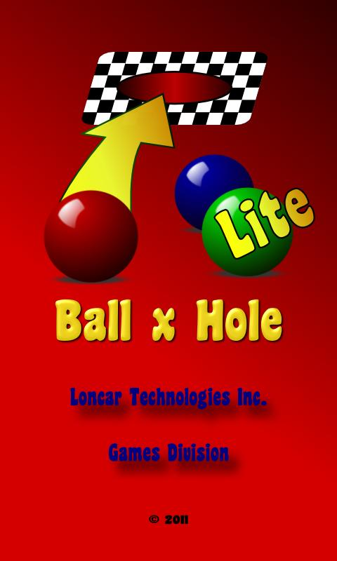 Ball x Hole Lite - screenshot