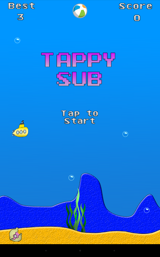 Tappy Sub- screenshot