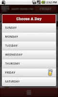 Screenshot of Happy Hour Finder