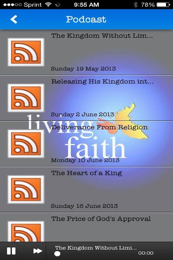 Living Faith Church - screenshot