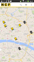 Screenshot of NCP Car Park Finder