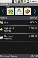 Screenshot of FireWallet