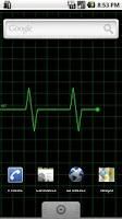 Screenshot of Heart Monitor Live Wallpaper