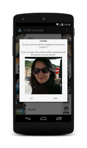 Contact Photo Sync 1.3.3 screenshots 2