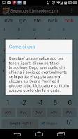 Screenshot of segnapunti briscolone PRO