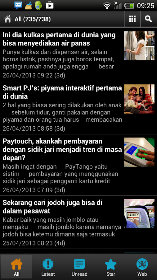 Otakku for Android- screenshot