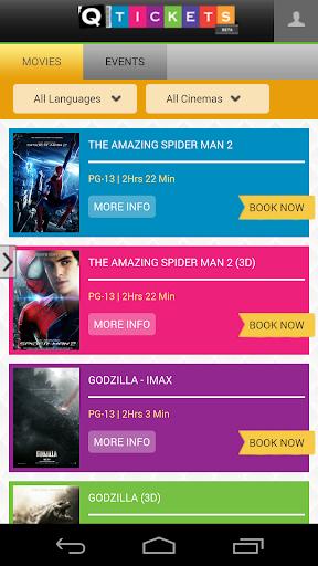 Qatar Movie Tickets