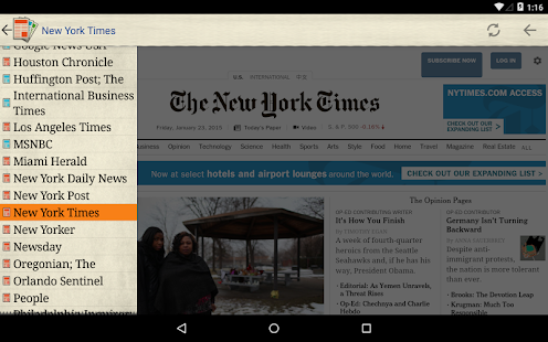 US Newspapers - screenshot thumbnail