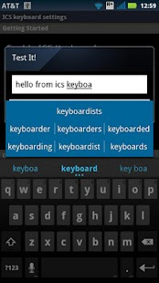 IceCream Sandwich-ICS Keyboard - screenshot thumbnail