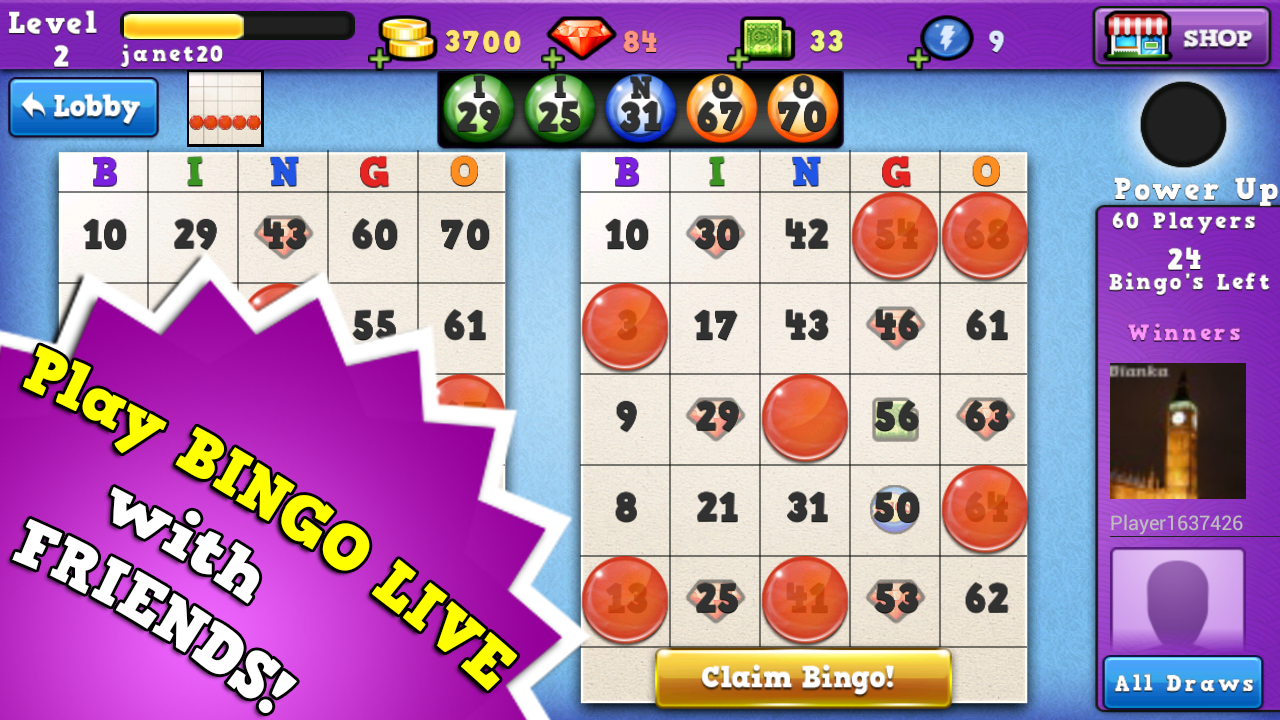 Bingo Run - FREE BINGO GAME - screenshot