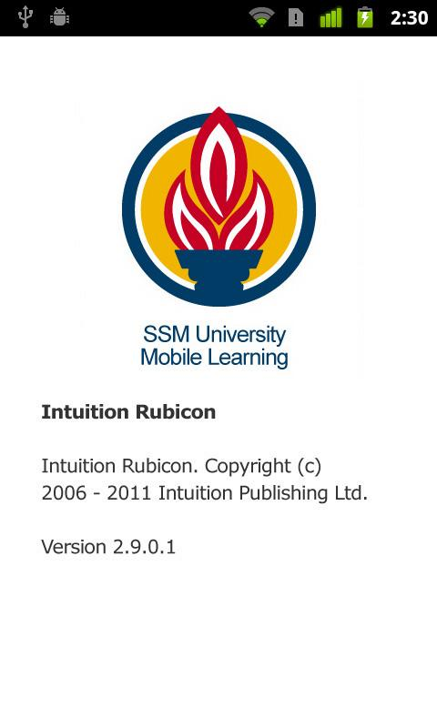 SSM University Mobile Learning - screenshot