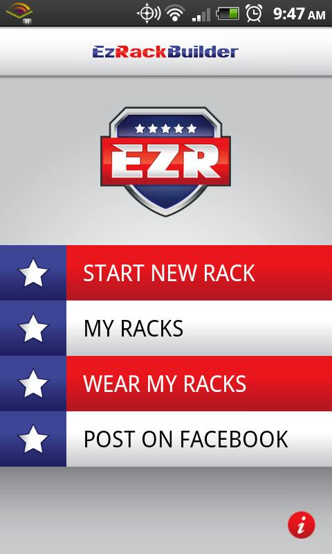 Ez Rack Builder - screenshot