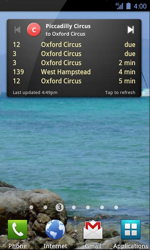 UK Bus Checker - screenshot